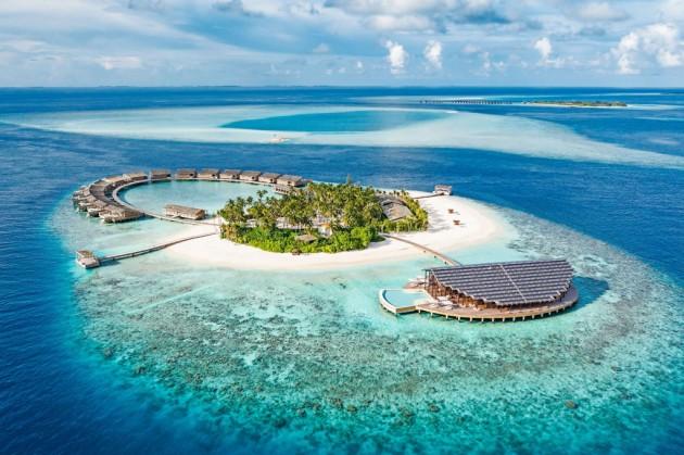 Maldiv szigeteki napelem