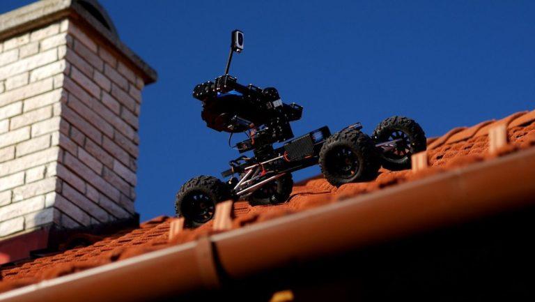 Mobil szolár helyszín elemző jármű