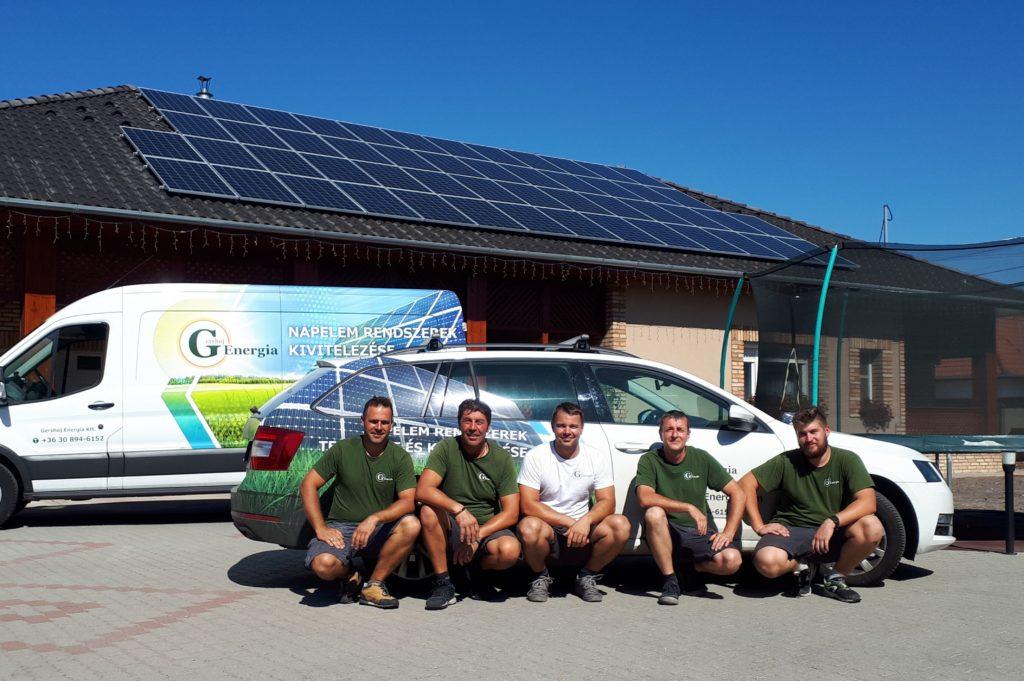 Gershoj Energia napelem telepítő csapat