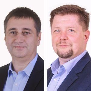 Gershoj Energia Gazdasági Konferencia Gyimesi Gábor és Kriza András, a Flow Magyarország képviseletében